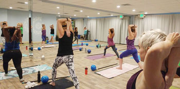 image of baltimore barre class