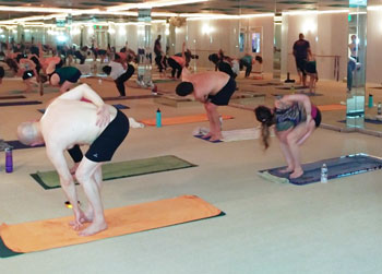 hot vinyasa baltimore image